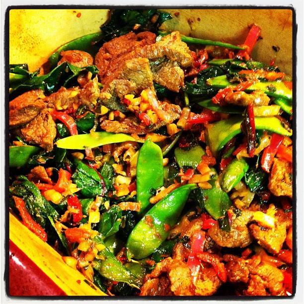 spicy asian stir fried swiss chard recipe yummly swiss chard stir fry ...